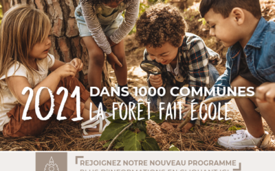 EDUCATION – 1ère Aire Forêt Ecole régionale, en forêt communale de Dax !