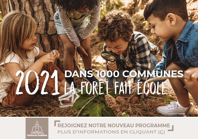 EDUCATION – 1ère Forêt pédagogique de la Nouvelle-Aquitaine en forêt communale de Dax !